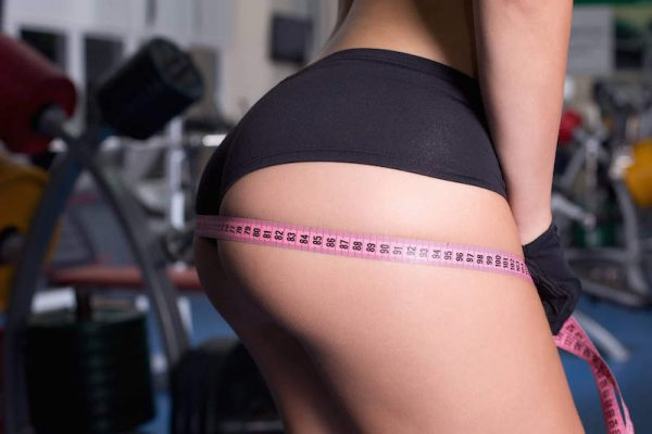 how to reduce buttocks size