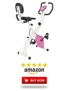 Adjustable Magnetic Upright Exercise Bike