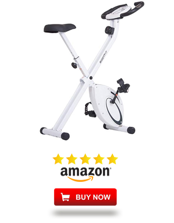Folding Upright Exercise Bike