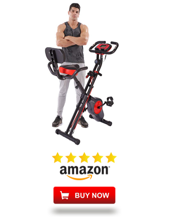 PLENY Upright Stationary Exercise Bike