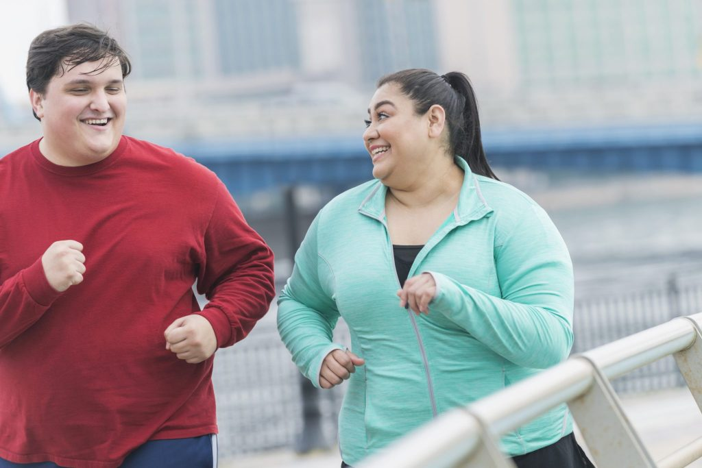 how to start running overweight
