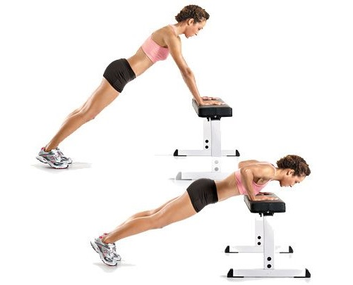 chest exercises for at home